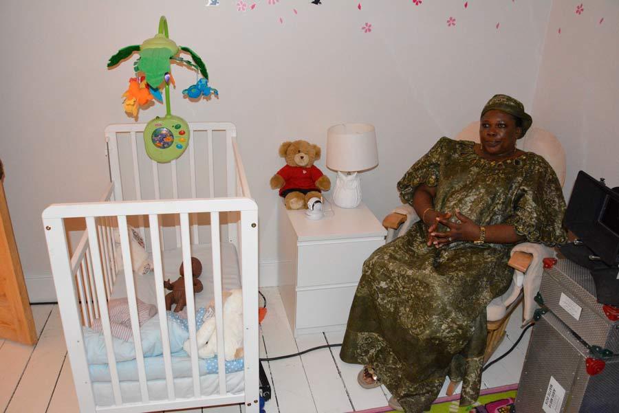 AMJ: Helen in nursery