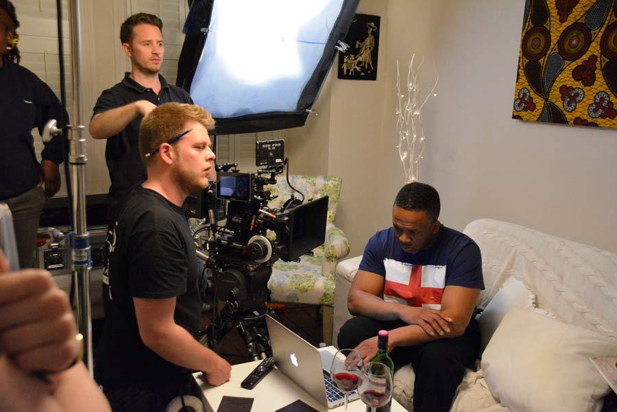 AMJ: Film crew at work