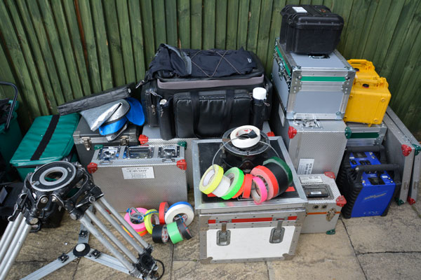 Kit for film shoot