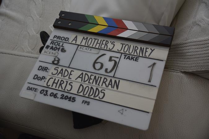 A Mother's Journey slate